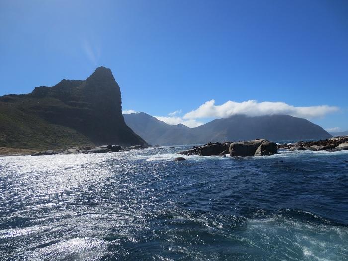 Utsikten från båtturen