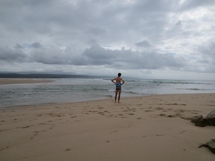 Redo att ta mig an havet.