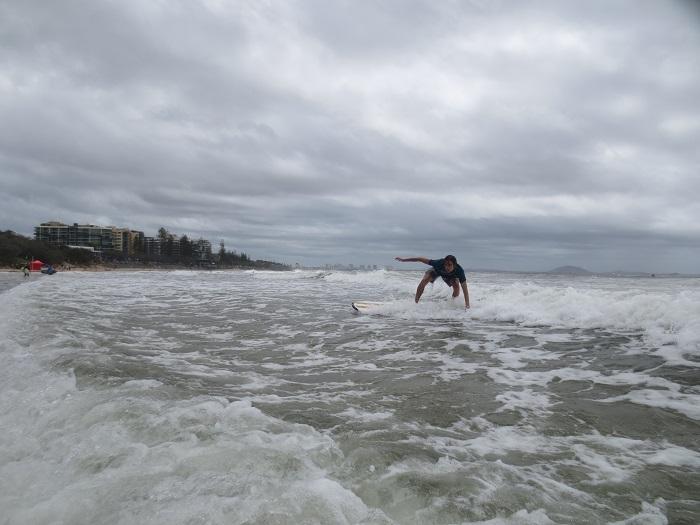 Jag surfar.